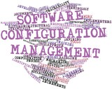 Word cloud for Software configuration management