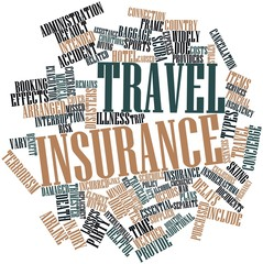 Word cloud for Travel insurance