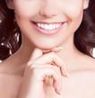 teeth of a woman