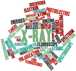 Word cloud for X-ray