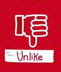 unlike icon