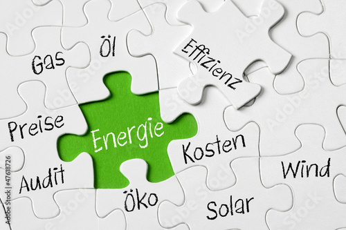 canvas print picture Energie KOnzept