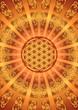 Blume des Lebens - Strahlen - Himmel
