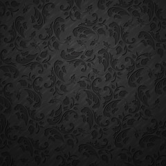 Elegant floral vintage background