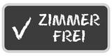 TF-Sticker eckig oc ZIMMER FREI