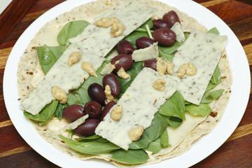 Tortilla Wrap Ingredients