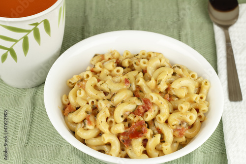 Delicious Macaroni Lunch