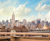 NEW YORK CITY - MARCH 12: The Empire State Building and Chrysler - Fine Art prints