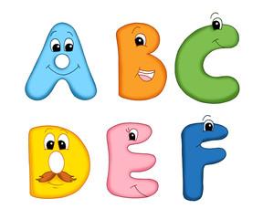 alfabeto felice 1
