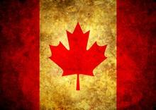 Grunge Kanada Flag