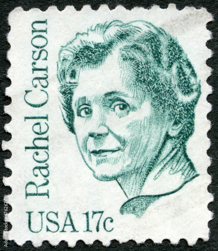 USA - 1981: shows Rachel Louise Carson (1907-1964)