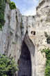 The Ear of Dionysius, near Syracuse on Sicily, Italy.