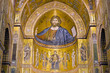 Cathedral of Monreale near Palermo, in Sicily, Italy