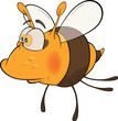 Bee. Cartoon