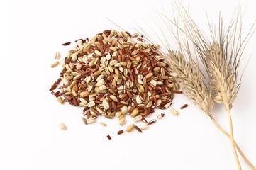 Cinque cereali con spiga