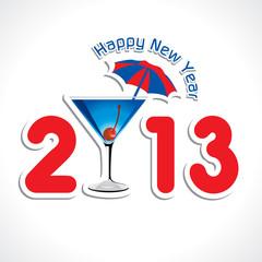 New Year Greeting Card ,2013