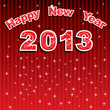 new year greeting 2013