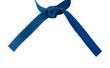 Tied Karate Blue Belt