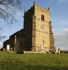 All Saints Church,(The Rambler's Church), Walesby, Lincolnshire.