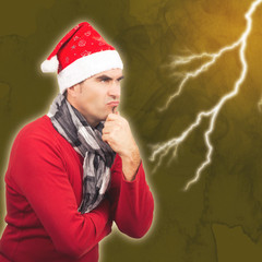 Grimmiger Weihnachtsmann, Blitz