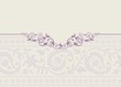 wedding template, paisley floral pattern , royal India