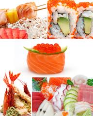 colage sushi