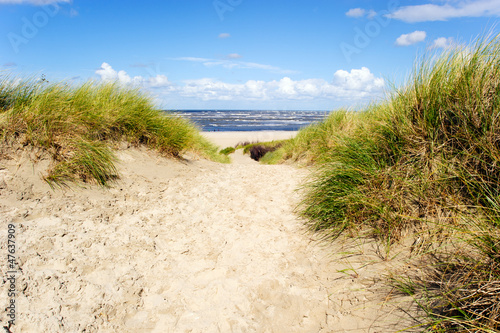 canvas print picture An der Nordsee