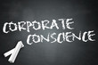 "Blackboard ""Corporate Conscience"""