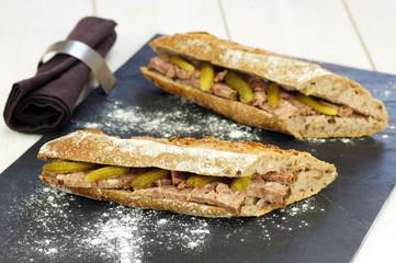 sandwiches de pâté de campagne 1