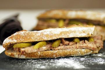 sandwiches de pâté de campagne 4