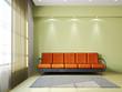 Livingroom with sofa and a carpet