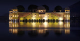 Jaipur Lake Palace (Jal Mahal) at night