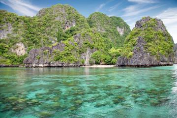 Beautiful scenery in El Nido, Palawan, Philippines