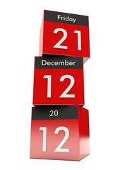 21 December 2012 - The end of the world.