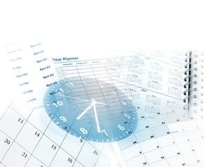 Clock and calendars