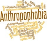 Word cloud for Anthropophobia