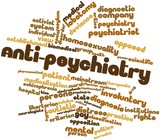 Word cloud for Anti-psychiatry