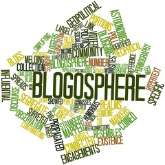 Word cloud for Blogosphere