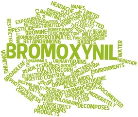 Word cloud for Bromoxynil