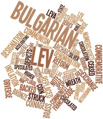 Word cloud for Bulgarian lev
