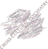 Word cloud for Cross-cultural psychiatry