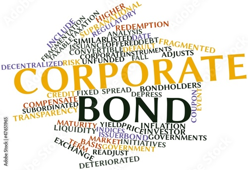 Word cloud for Corporate bond
