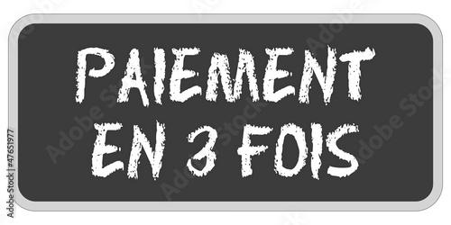 TF-Sticker eckig oc PAIEMENT EN 3 FOIS