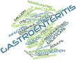 Word cloud for Gastroenteritis