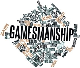 Word cloud for Gamesmanship