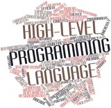 Word cloud for High-level programming language