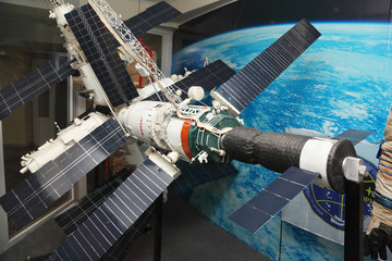 Model of Mir space station