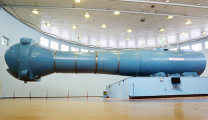 Centrifuge in Cosmonaut Training Center