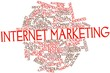 Word cloud for Internet marketing