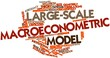 Word cloud for Large-scale macroeconometric model